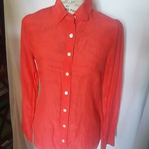 J. Crew Button down woman shirt Fairly used